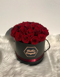 Timeless Roses Large Round Box