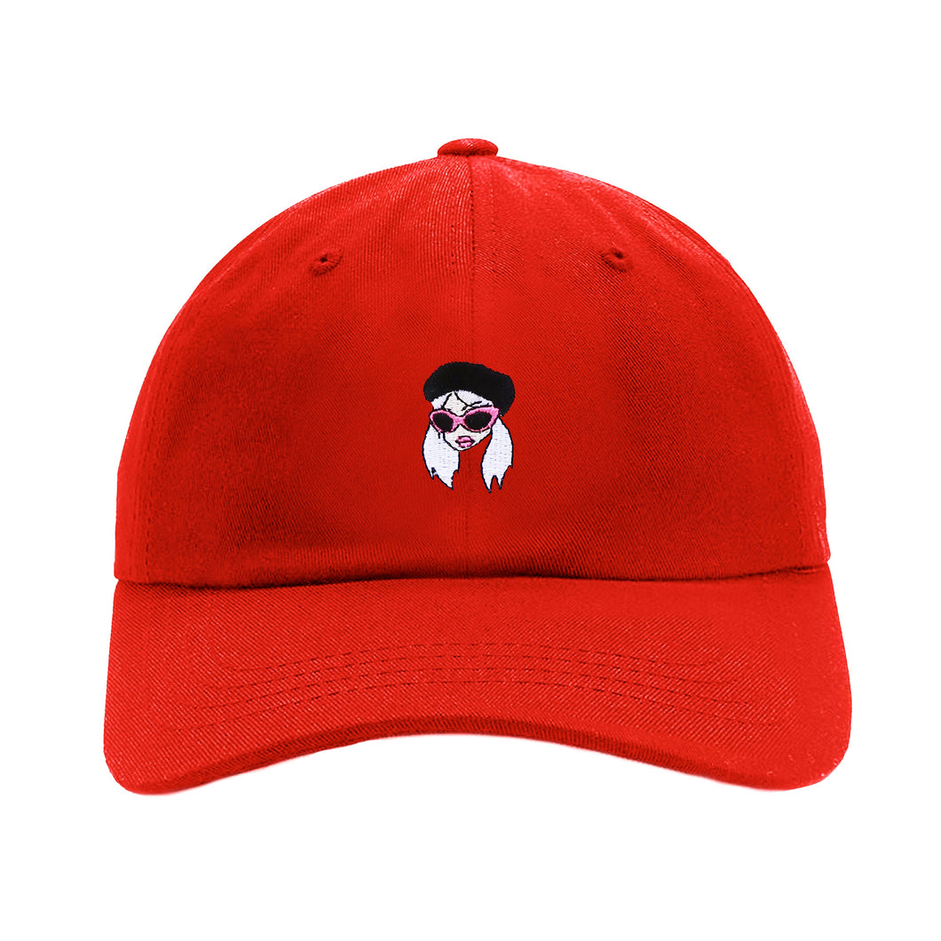 RED CAM GIRL HAT