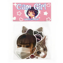 *NEW* CAM GIRL STICKER PACK