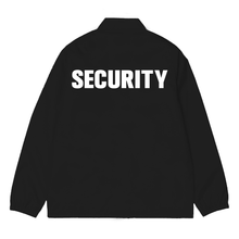 BLACK CAM GIRL SECURITY JACKET