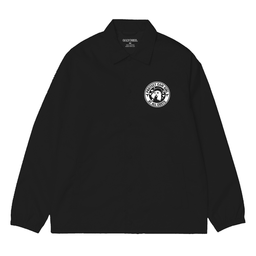 BLACK CAM GIRL SECURITY COACHES JACKET