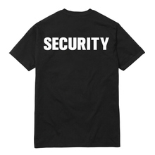 BLACK CAM GIRL SECURITY SHIRT