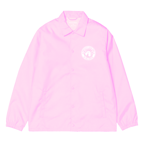 PINK CAM GIRL SECURITY COACHES JACKET