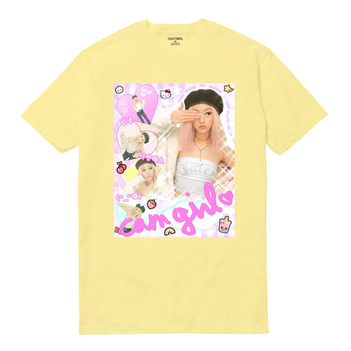 *LIMITED EDITION* YELLOW OG CAM GIRL SHIRT