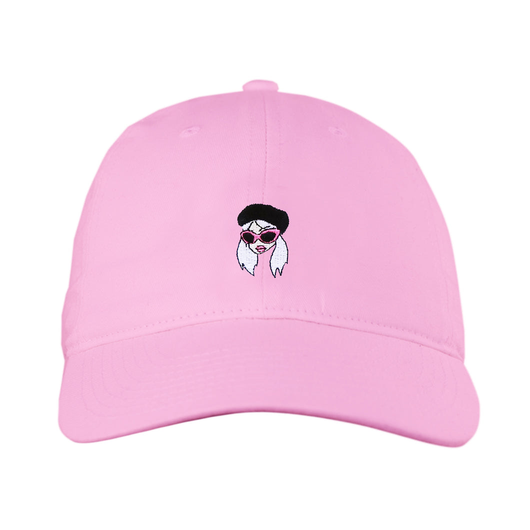 PINK CAM GIRL HAT
