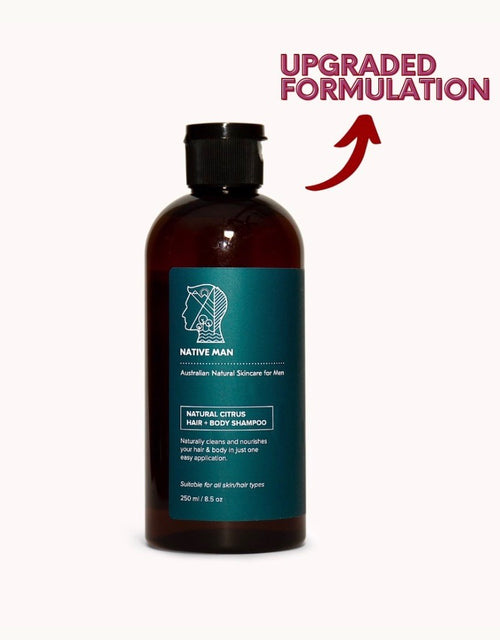Natural Citrus Hair & Body Shampoo 250ml