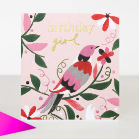 Card Birthday Girl
