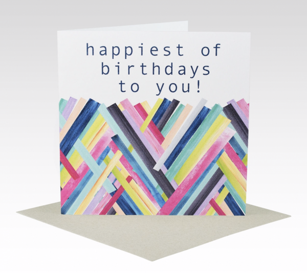 Card Happiest Of Birthdays To You