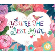 Card You're The Best Mum