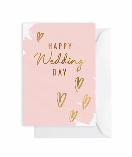 Elm Card Happy Wedding Day