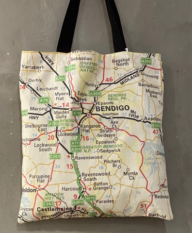 Tote Bag Bendigo Melways