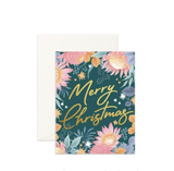 Card Merry Christmas Floribunda
