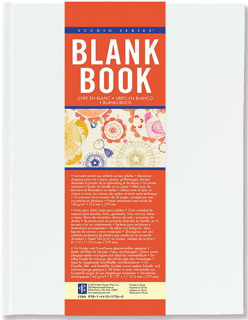 Blank Book White
