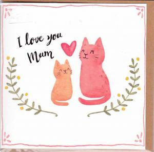 Card I Love You Mum