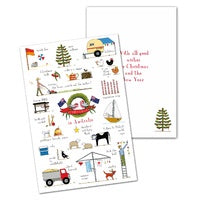 Card Pack 10 Christmas In Australia