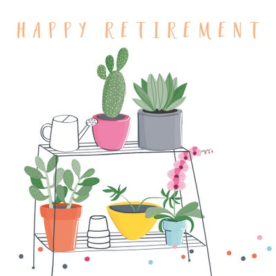 Card Happy Retirement