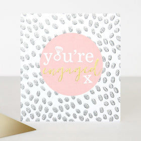 Card You're Engaged X