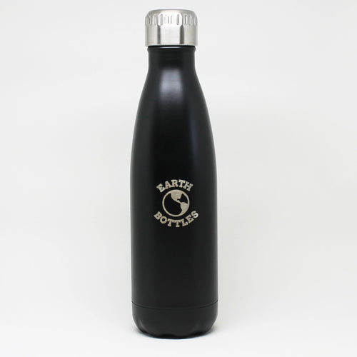 Matte Black Earth Bottle 500ml