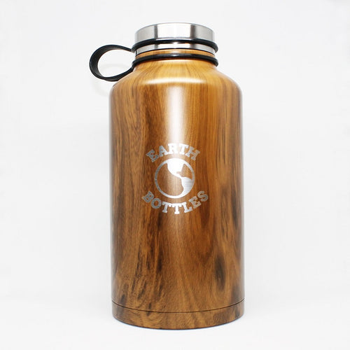 1.8L Water Flask Pale Timber