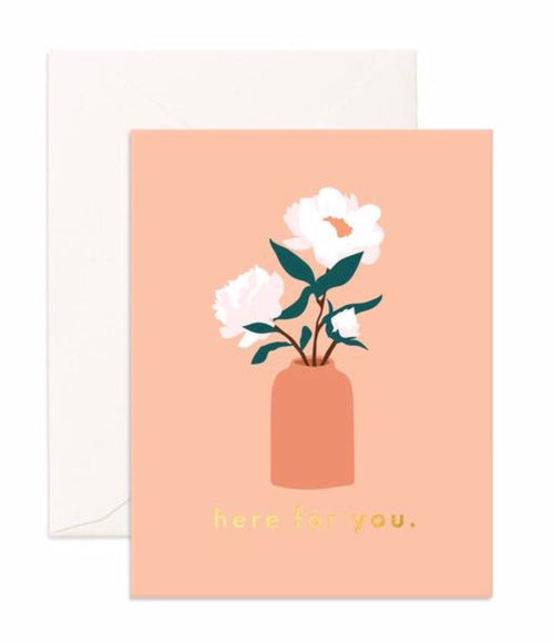 Card Here For You Magnolias
