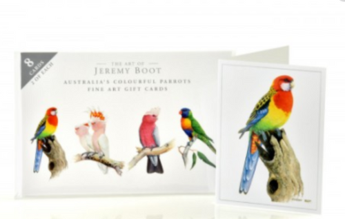 Australia's Colourful Parrots Gift Card Pack