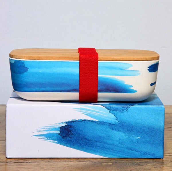 Blue Wave Lunch Box