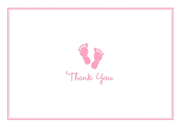 Note Cards Boxed  Thank-You Baby Girl