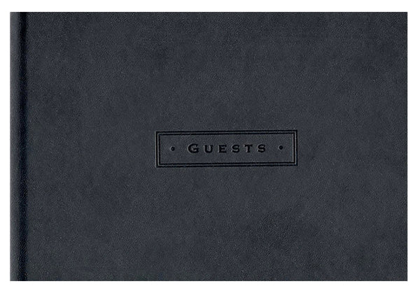 Guest Book Faux Leather