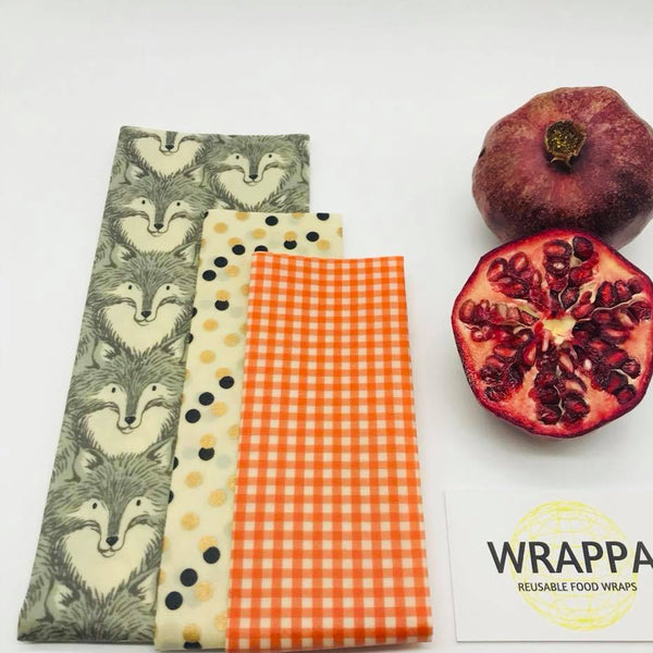 Wrappa Vegan 3 pk