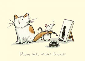 Card Make Art, Make Friends
