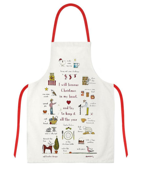 Apron Christmas In My Heart
