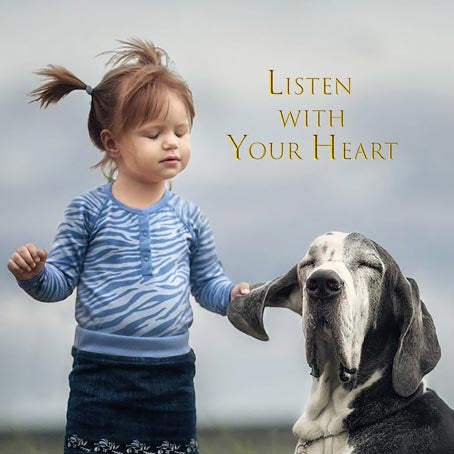 Card Listen With Your Heart