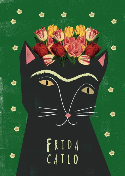 Card Frida Catlo