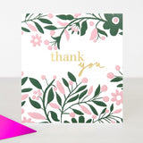 Card Thank You Floral