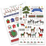 Card Pack 10 12 Days Christmas Victoria