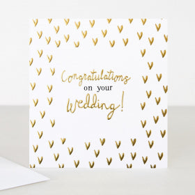 Card Congratulations On Your Wedding