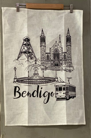 Tea Towel Bendigo