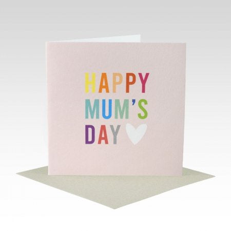 Card Happy Mum's Day Colourful