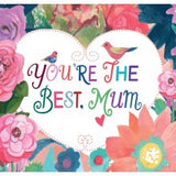 Card You're The Best Mum Large