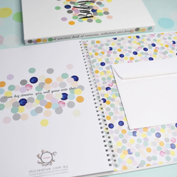 Baby Book Pastel Spot Design