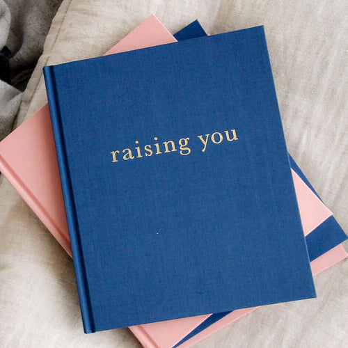 Raising You Journal Blue
