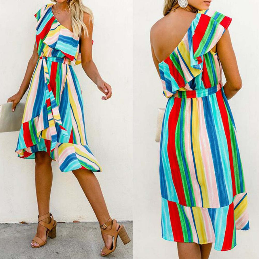 Sara Stripe Dress