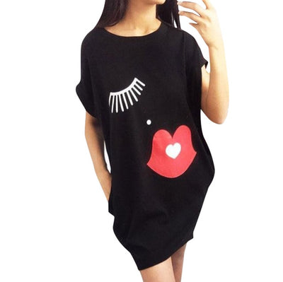 Smooches Shirt Dress