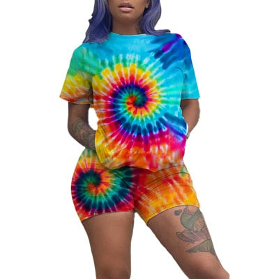 Summer Tie Dye Set (2 pieces)