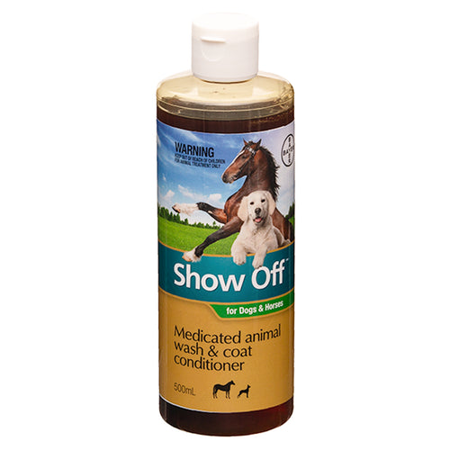 Show Off Medicated Animal Wash & Coat Conditioner - 500ml