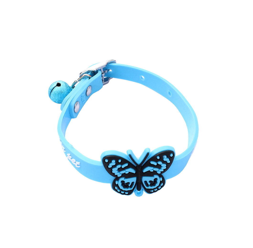 Silicone Butterfly Cat Collar
