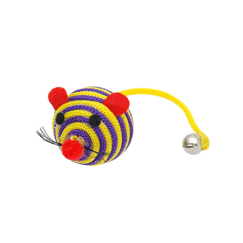 Striped Mouse Cat Toy
