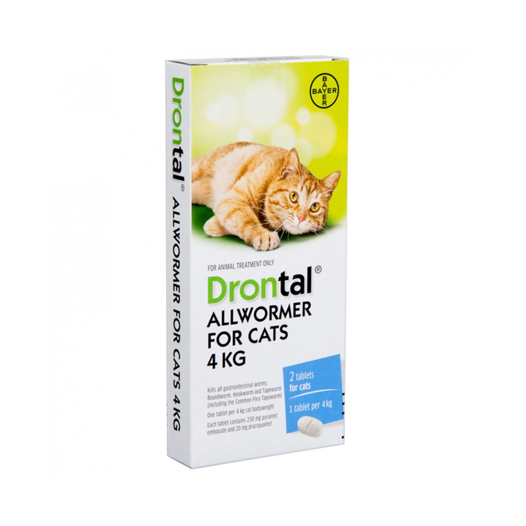 Drontal Allwormer For Cats 4kg