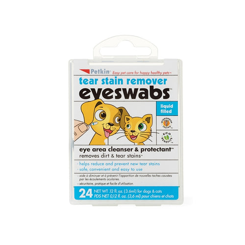 Petkin Eye & Tear Swabs
