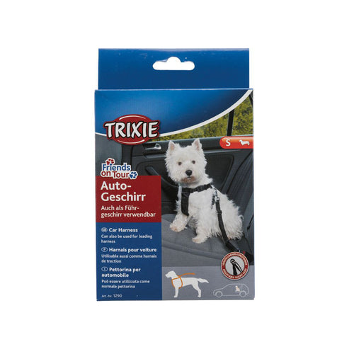Trixie Dog Car Harness - S/M/L